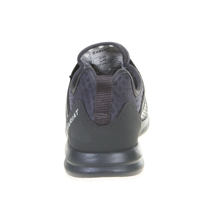 Mens Ariat Black/Grey Ombre Fuse Casuals
