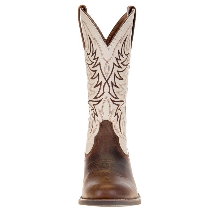 Men's Ariat Sport Horseman Cattail Brown 13in. Dover Brown Top Boot