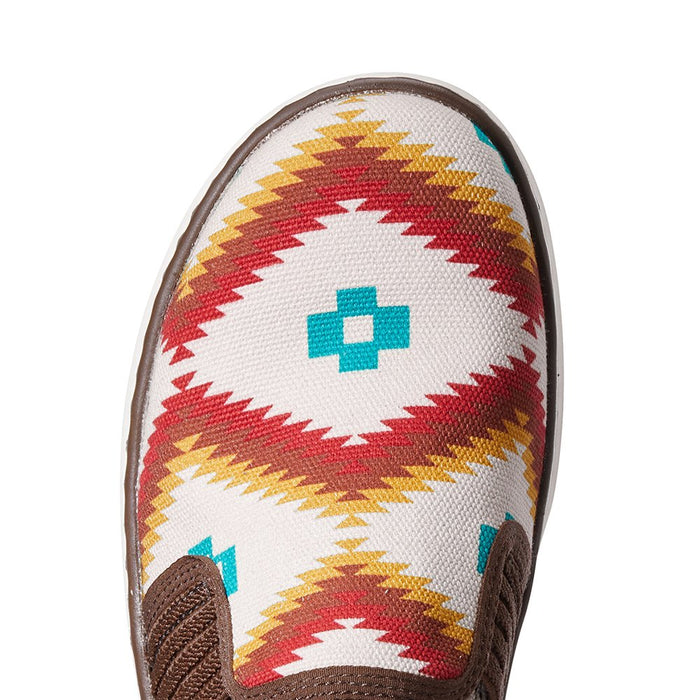 Womens Ariat  Ryder Turquoise Saddle Blanket Casual