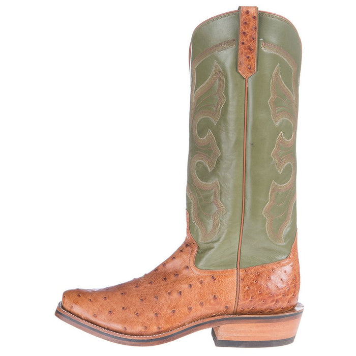 Men's NRS Ride Ready Rios of Mercedes Brandy Mad Dog Full Quill Ostrich Boots