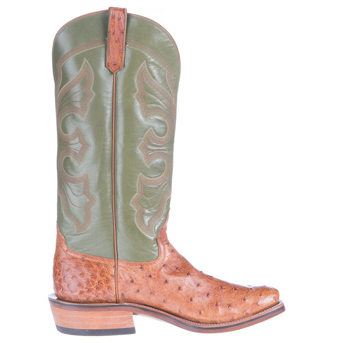 Men S Nrs Ride Ready Rios Of Mercedes Brandy Mad Dog Full Quill Ostrich Boots