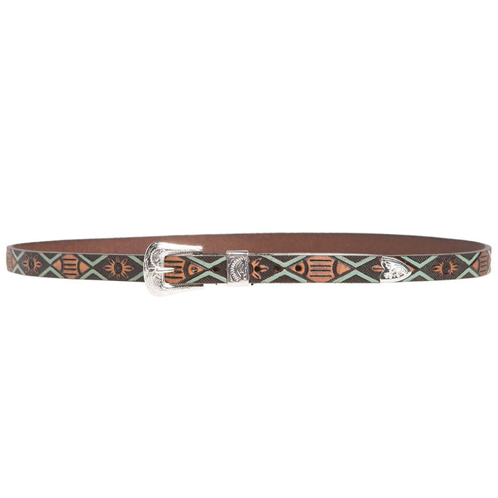 Aztec Hat Band with Buckle