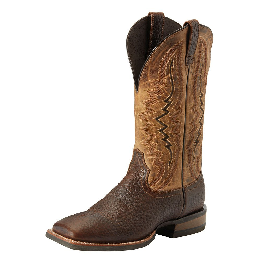 7d9e74bc6a7 Men's Relentless Short Round Straight Whiskey 13in. Dusted Wheat Top Square  Toe Cowboys Boots