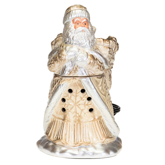 Tyler Candle Co Brushed Gold Santa Warmer