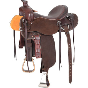Cashel Chocolate Drover Saddle