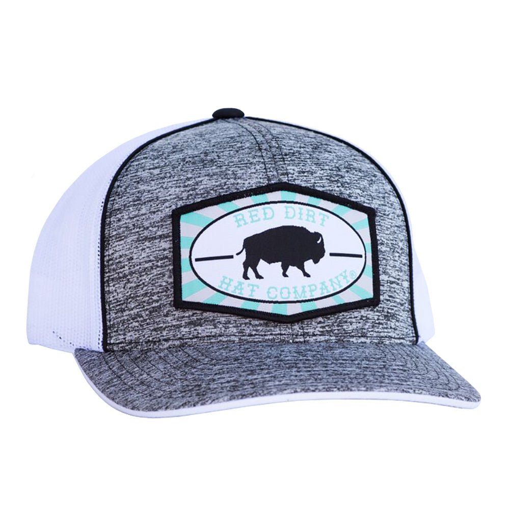 Red Dirt Hat Company Turquoise Buffalo Patch Cap