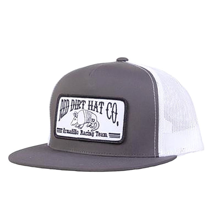 Red Dirt Hat Company Grey Armadillo Patch Cap