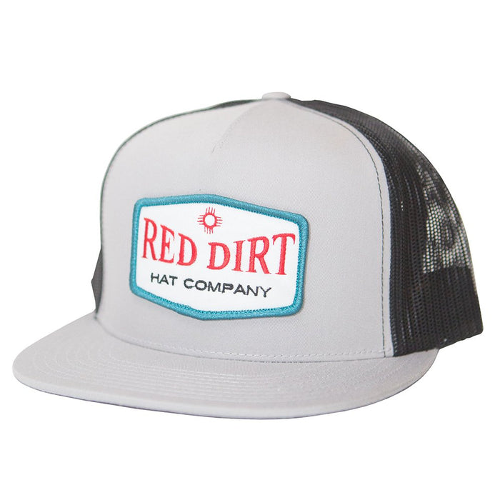 Red Dirt Hat Company Red/White Logo Patch Cap