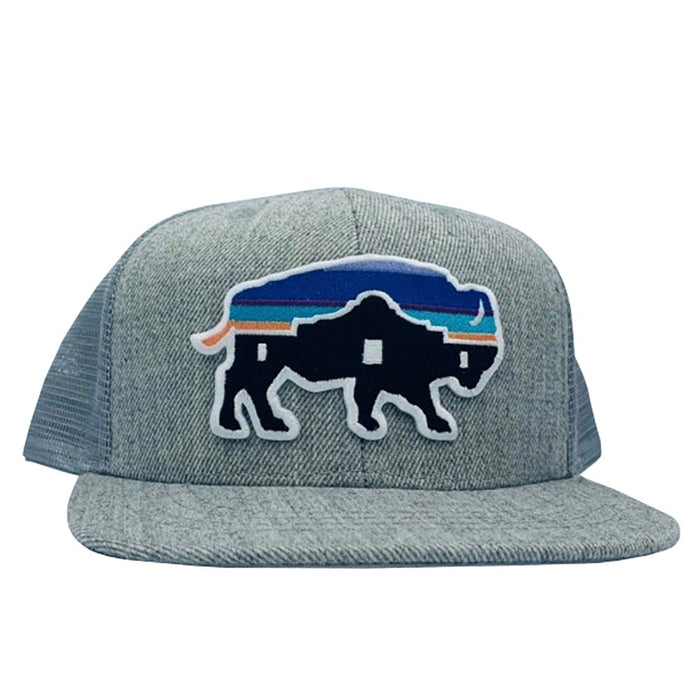 Red Dirt Hat Company Kids Adobe Buffalo Patch Cap