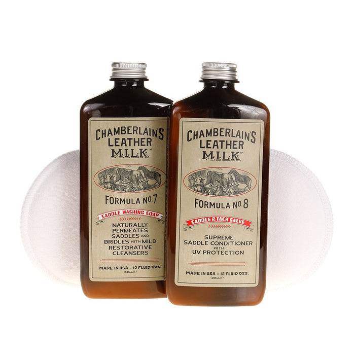 Chamberlain's Saddle and Tack Wash and Condition Set