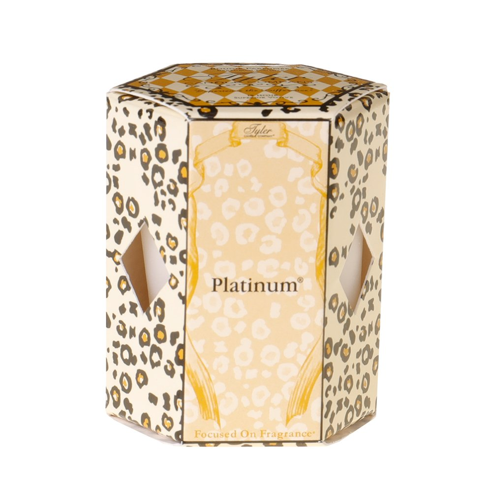 Tyler Platinum Votive Candle