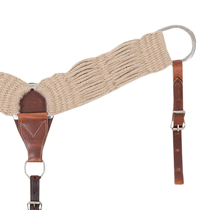 Martin 3 Inch Mohair Natural Breast Collar