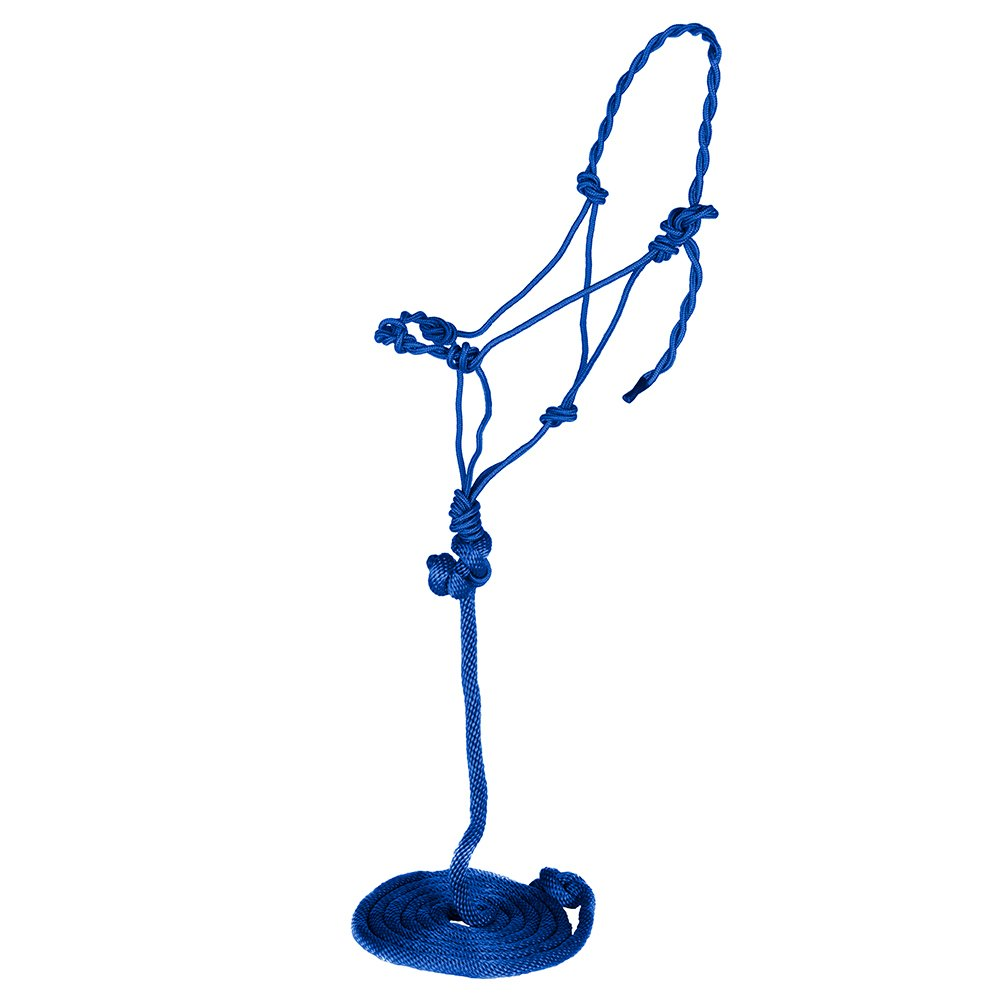 Tough-1 Poly Rope Halter with Lead