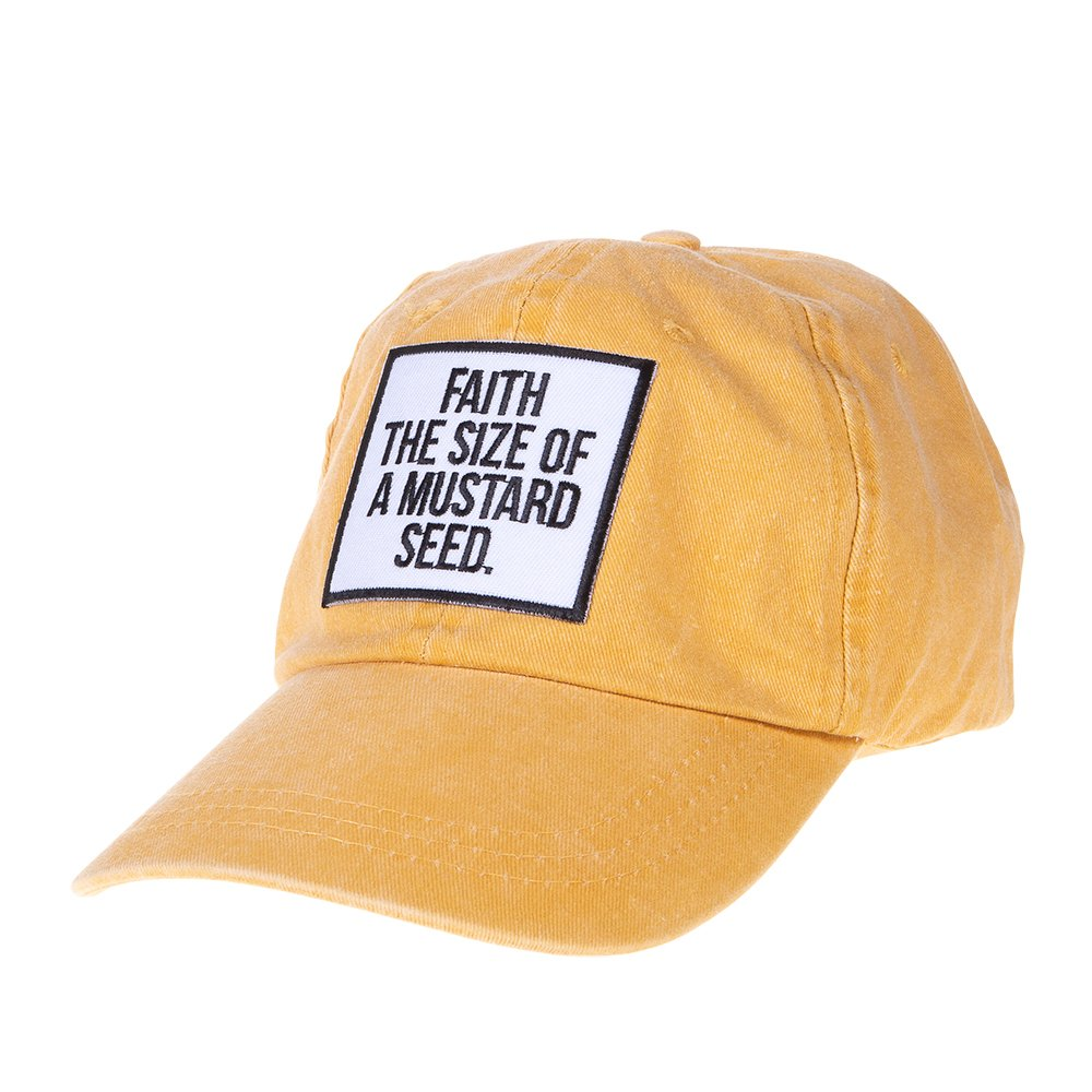 Ladies Ruby's Rubbish Faith Like A Mustard Seed Cap