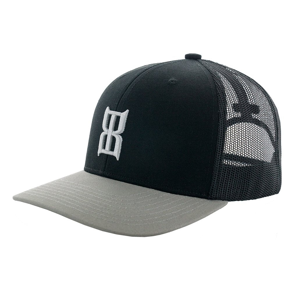 Mens Bex Steel Black/Silver Cap