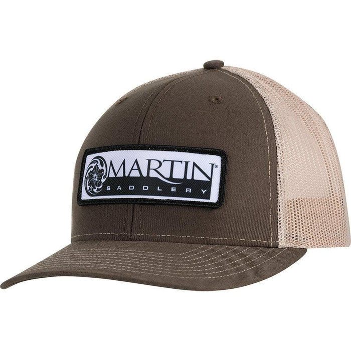 Martin Brown and Khaki Logo Cap