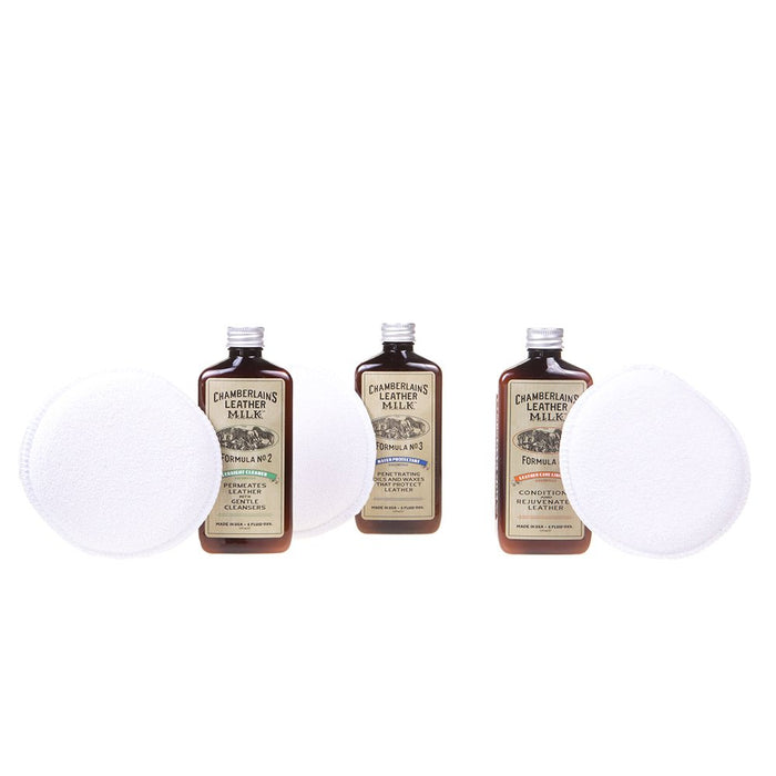 Chamberlain's Restore and Protect Leather Care Set