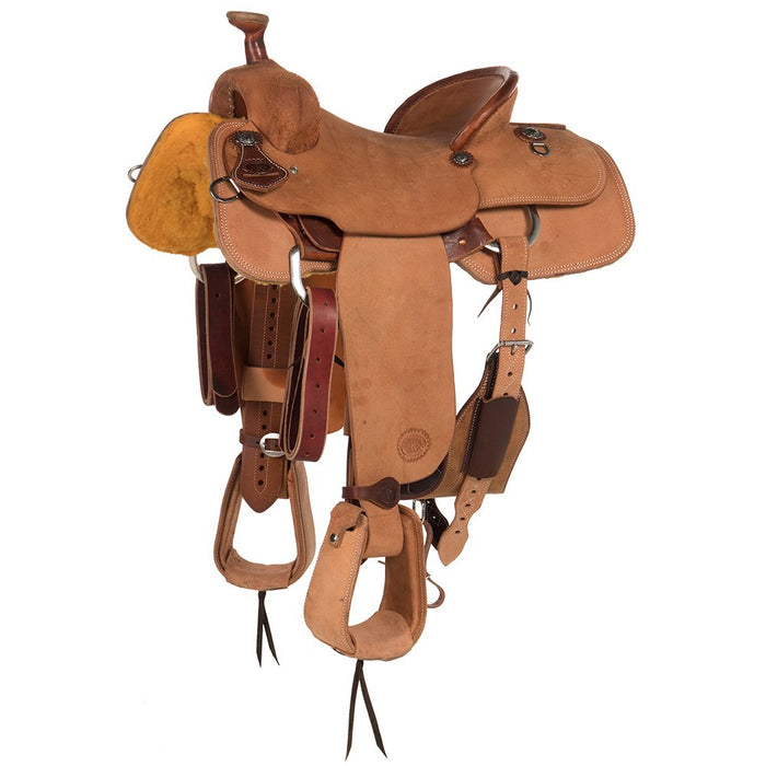 NRS Competitor Series Natural Heavy Oil Roughout with a Pencil Roll Team Roper