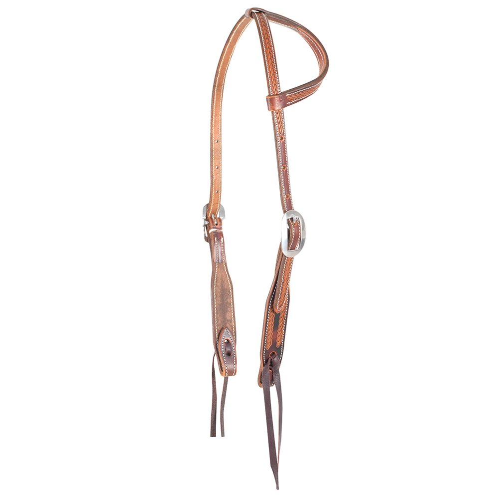 Martin Slip Ear Rope Border Headstall