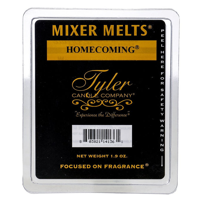 Tyler Candle Co Homecoming Mixer Melt