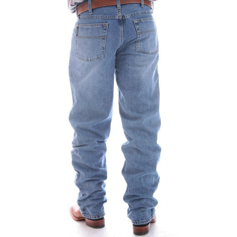 Men's Cinch Black Label Relaxed Fit Medium Stonewash Jeans