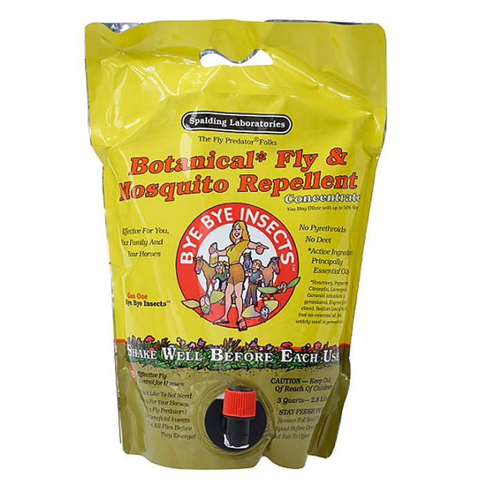 Bye Bye Insects Fly Spray 3 Quart Refill
