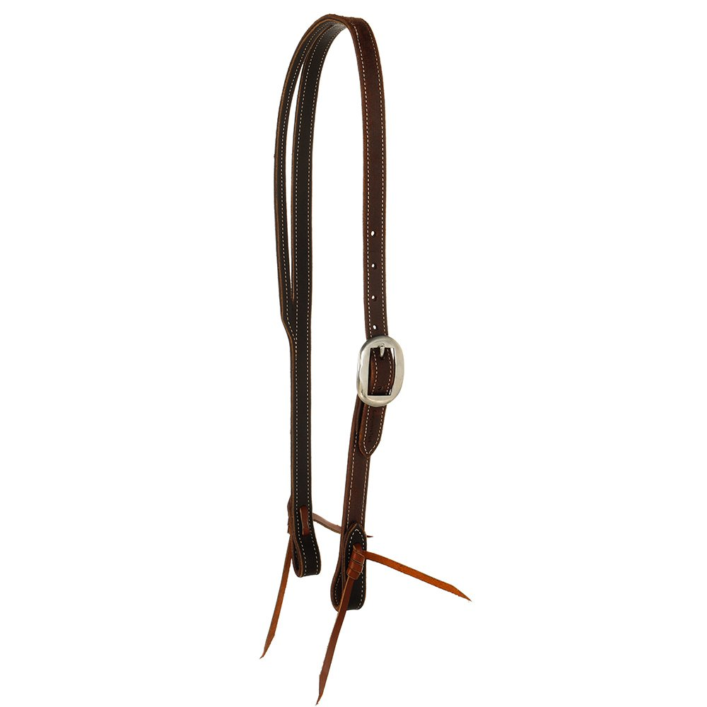 Cowperson Tack Slit Ear Headstall