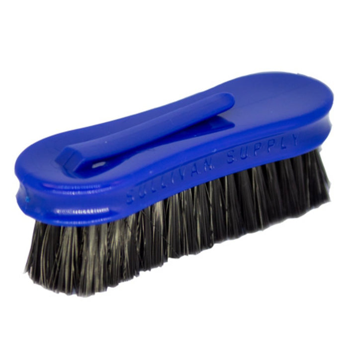 Pig Face Brush with Clip Blue