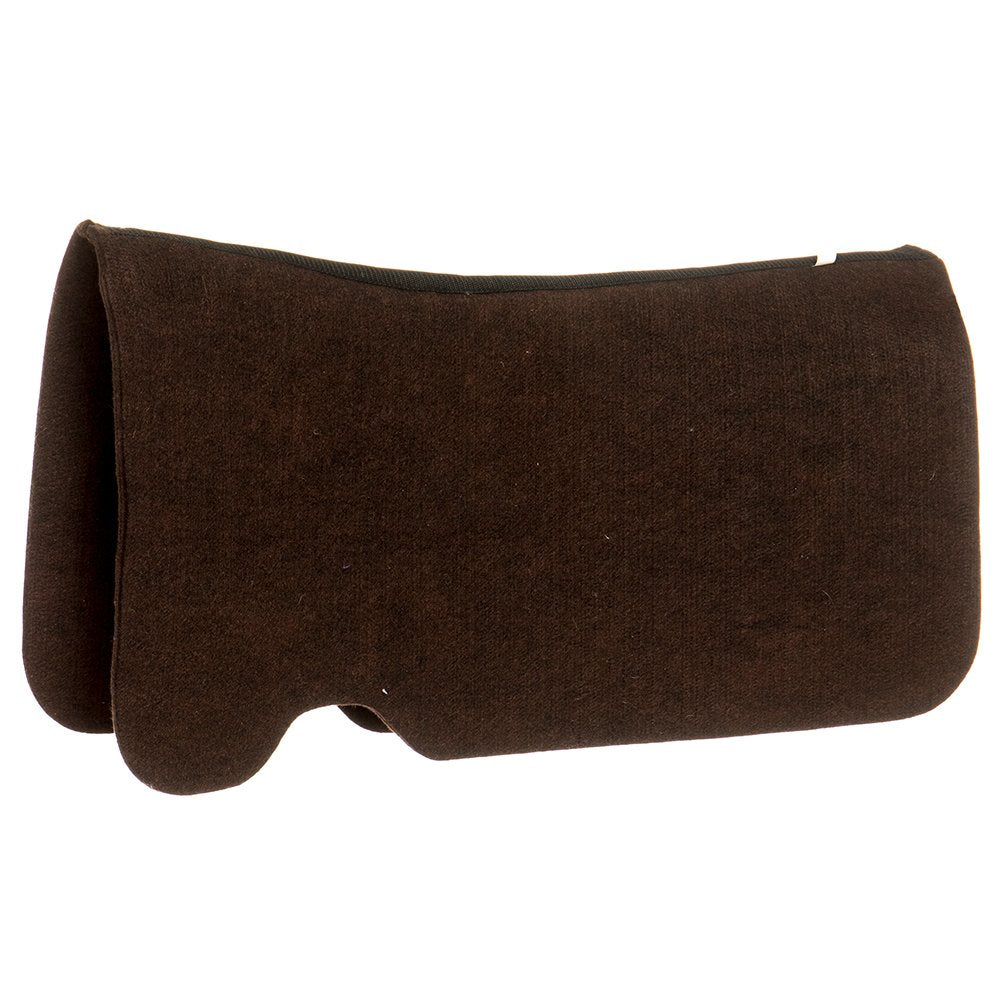Mustang Contoured Chocolate Brown Pad Protector