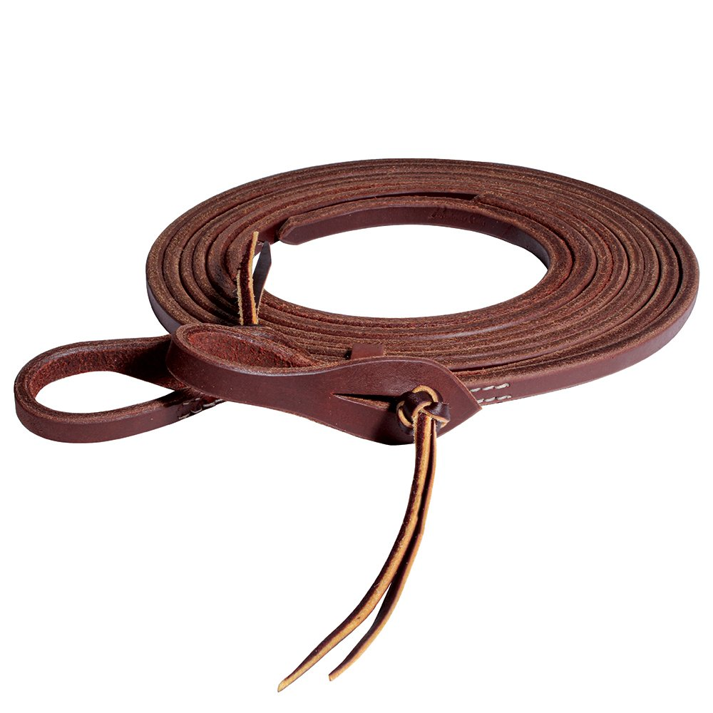 Professional's Choice 1/2in Heavy Oil Pineapple Knot Split Reins