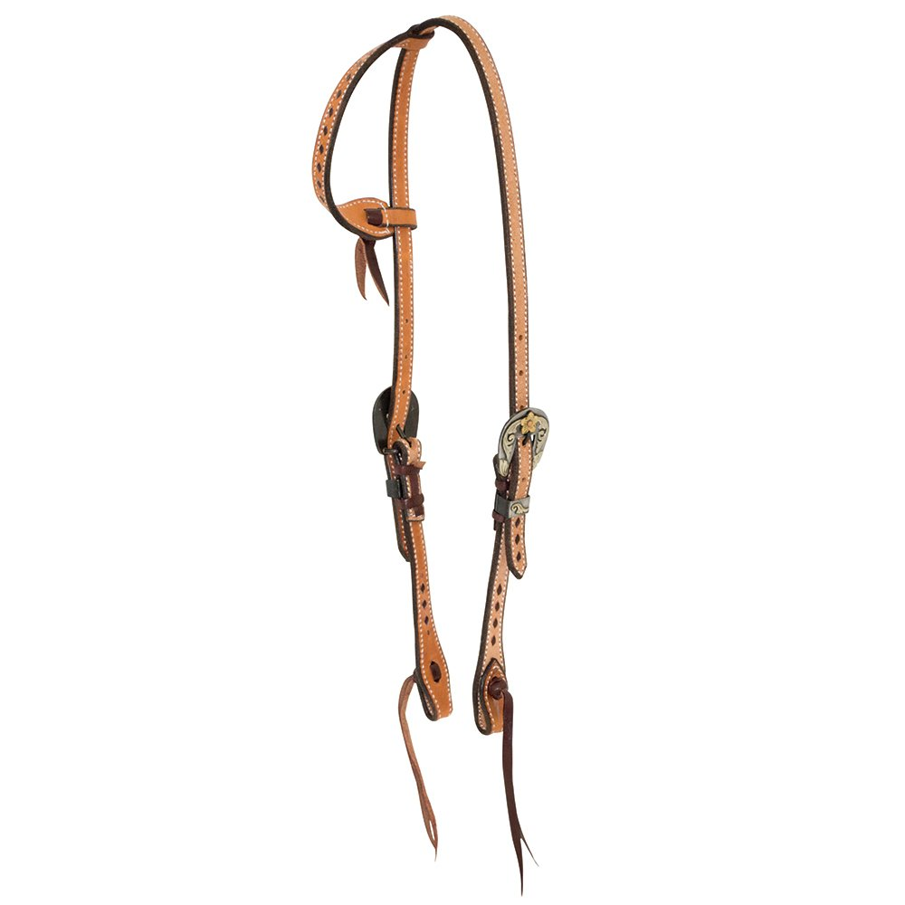 Wildfire 5//8in Cowboy Knot Browband Headstall