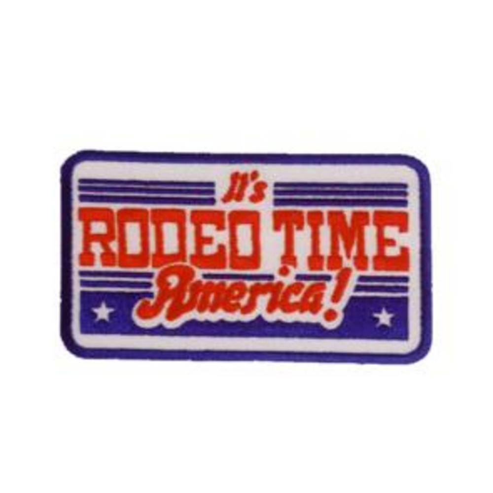 Dale Brisby It's Rodeo Time America Patch