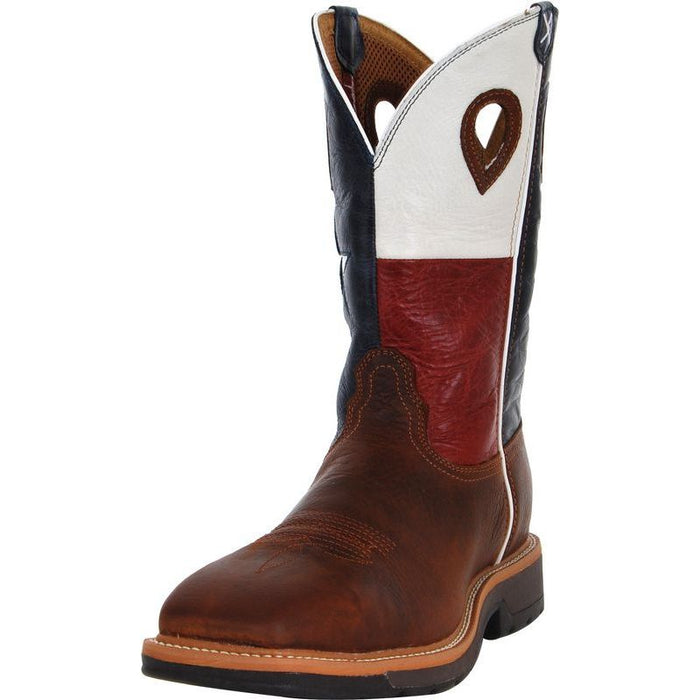 91e2b162847 Men's Twisted X Texas Flag Lite Weight Cowboy Work Boots