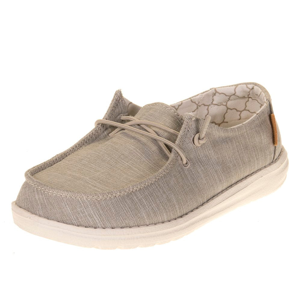 Youth Hey Dude Wendy Linen Beige Casual
