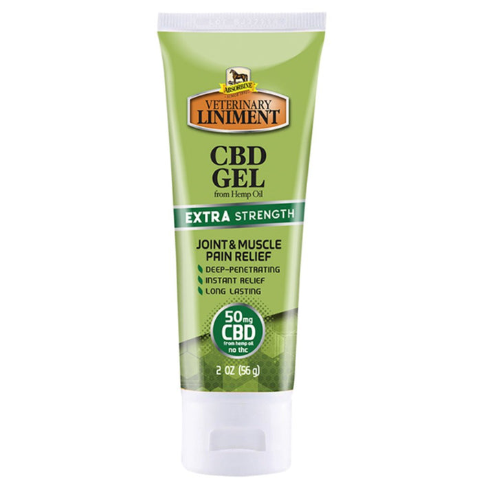 Absorbine Veterinary Liniment CBD Gel Extra Strength 2oz