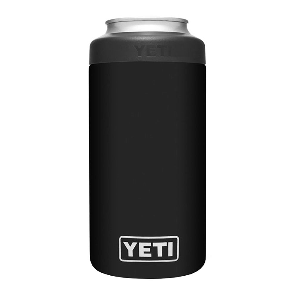 Yeti Coolers 16oz Black Tall Colster Can Insulator
