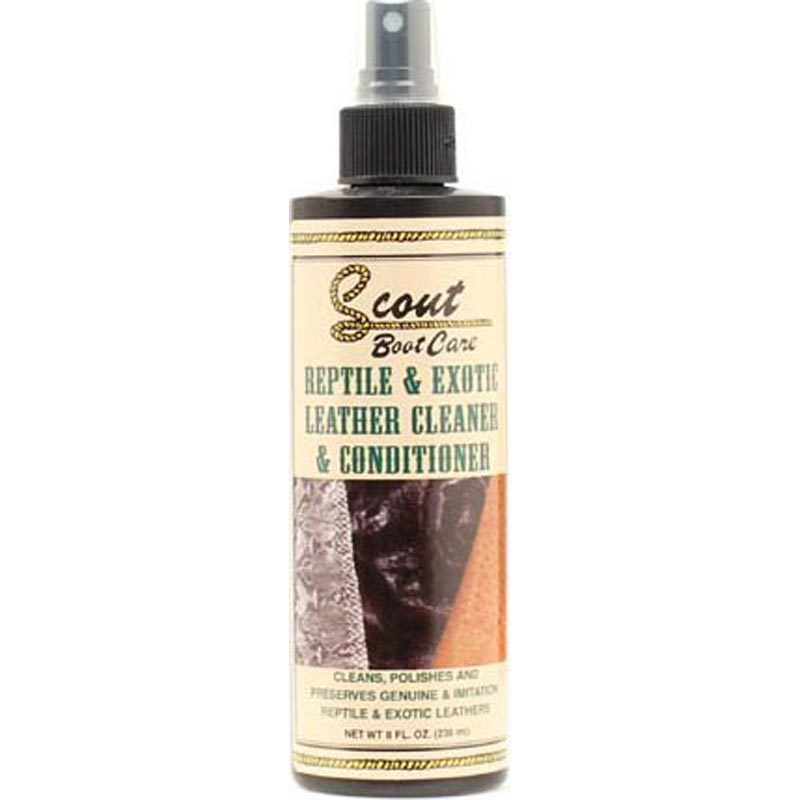 Scout's Reptile & Exotic Leather Cleaner & Conditioner