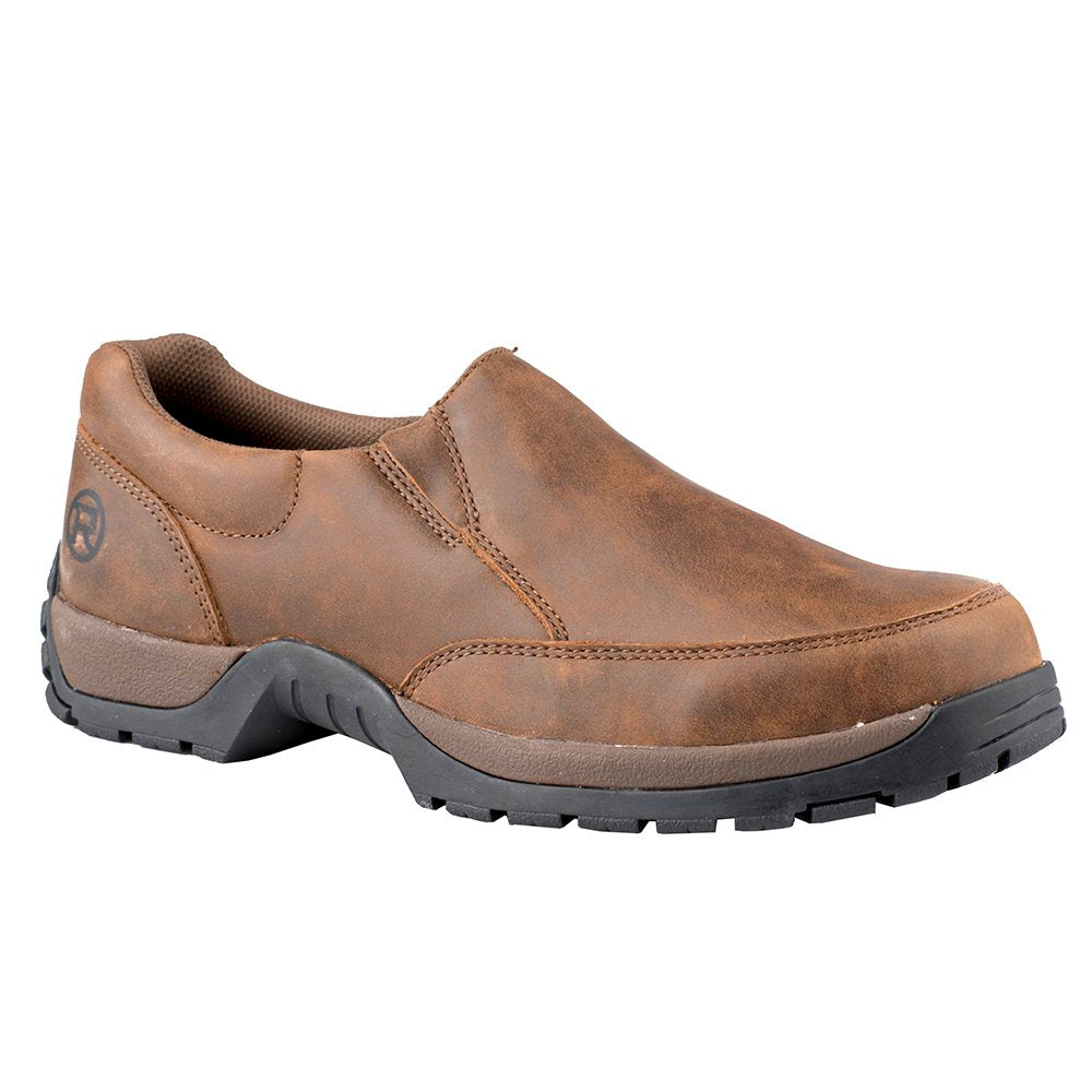 Mens Roper  Canter Brown Leather Casual Shoe