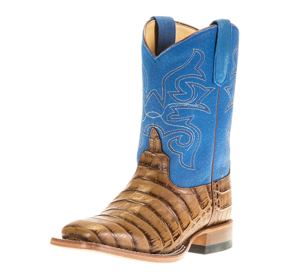 Kids Horse Power Toasted Caiman Royal Sinsation Top Cowboy Boots