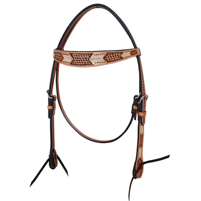 Rawhide Arrow Browband Headstall