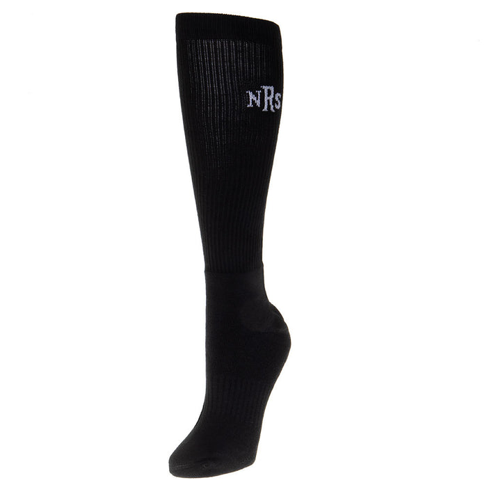 Exclusive 3pk Men`s Black NRS Over The Calf Socks