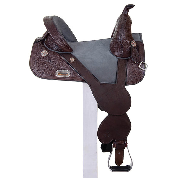 "Circle Y 14.5"" Tammy Fischer Treeless Barrel Racer"