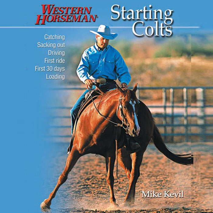 Western horseman Starting Colts Book