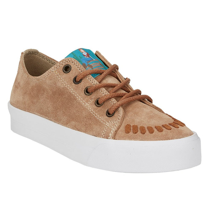 Womens  Reba Susie 2.0 Tan Suede Lace Up