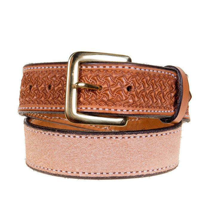 Youth Texas Saddlery Saddle Tan Spider Combo Belt