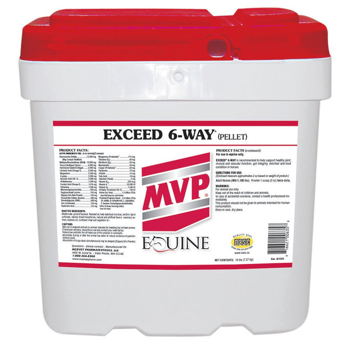Exceed 6-Way Pellets 16lb