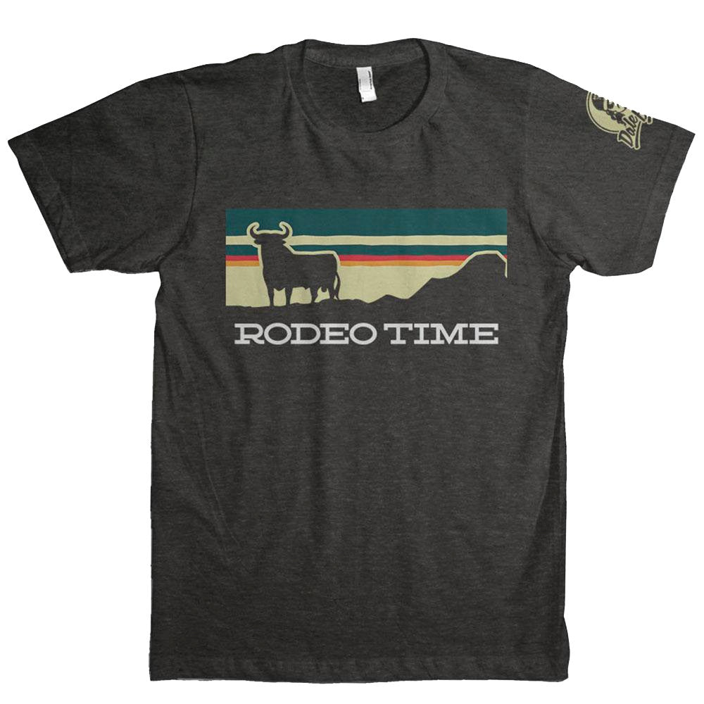 Dale Brisby Sunset Rodeo Time Black Tee