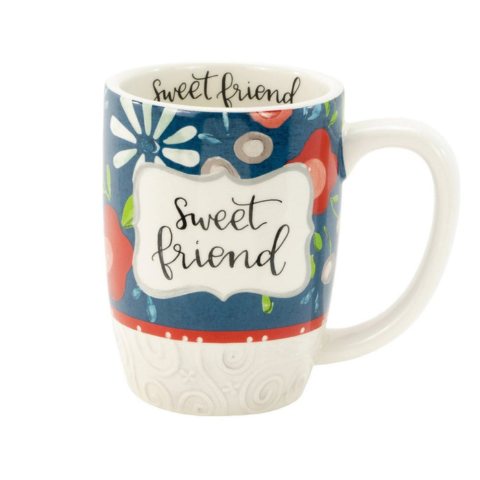 Sweet Friend Simple Inspirations Gift Mug