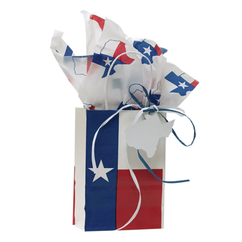 Texas Gift Bag with Texas Tissue Paper