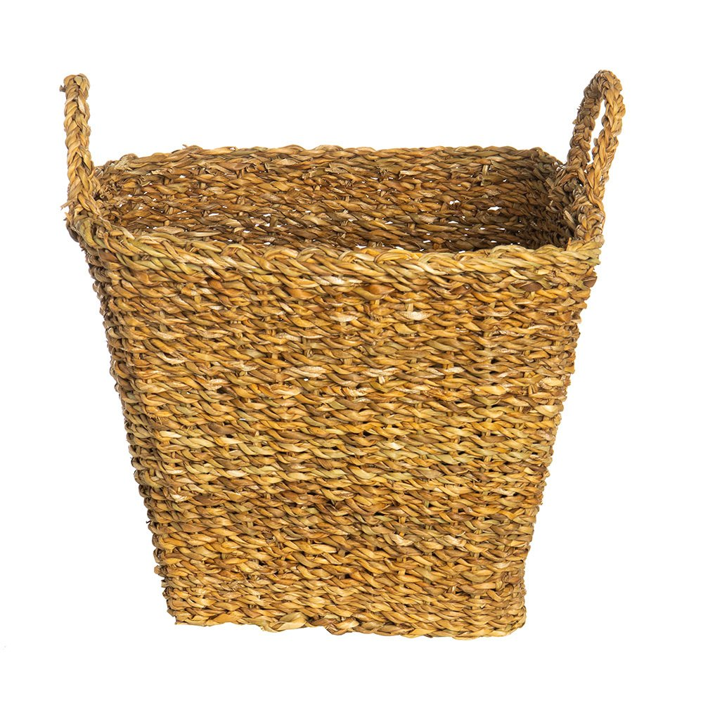 Large Seagrass Basket w/Handles
